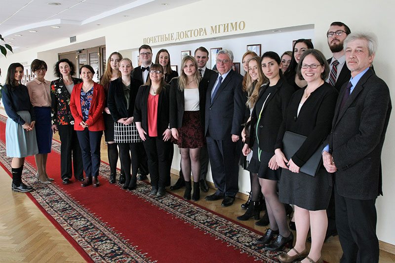MGIMO and US Council on International Educational Exchange: 5 Years of Cooperation