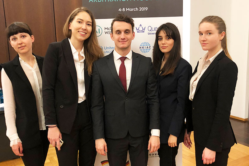 MGIMO Team Wins Frankfurt Investment Arbitration Moot Court