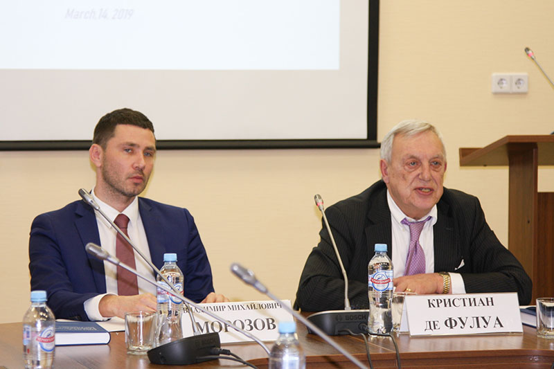 Chairman of the Association of Accredited Public Policy Advocates to the European Union Speaks at MGIMO