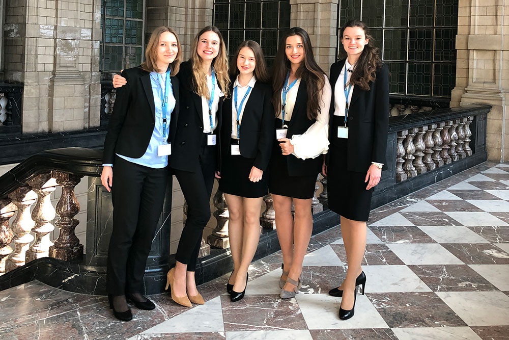 MGIMO Students at International and European Tax Moot Court