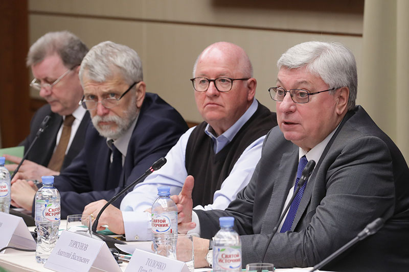 MGIMO Rector at Meeting of International Commission for 75th Anniversary of Liberation of Eastern Europe