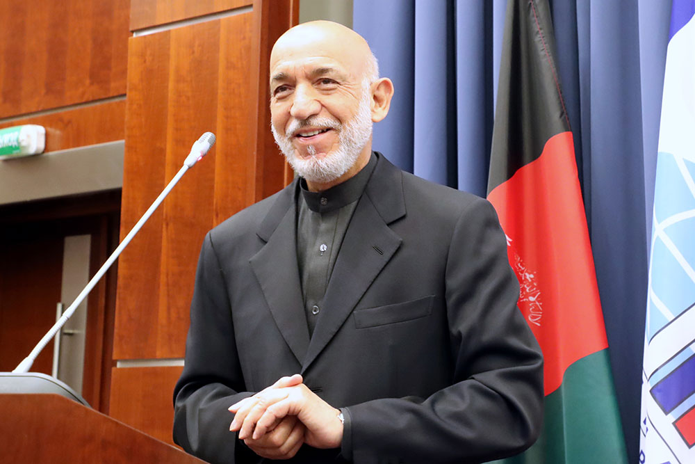 MGIMO Welcomes Hamid Karzai