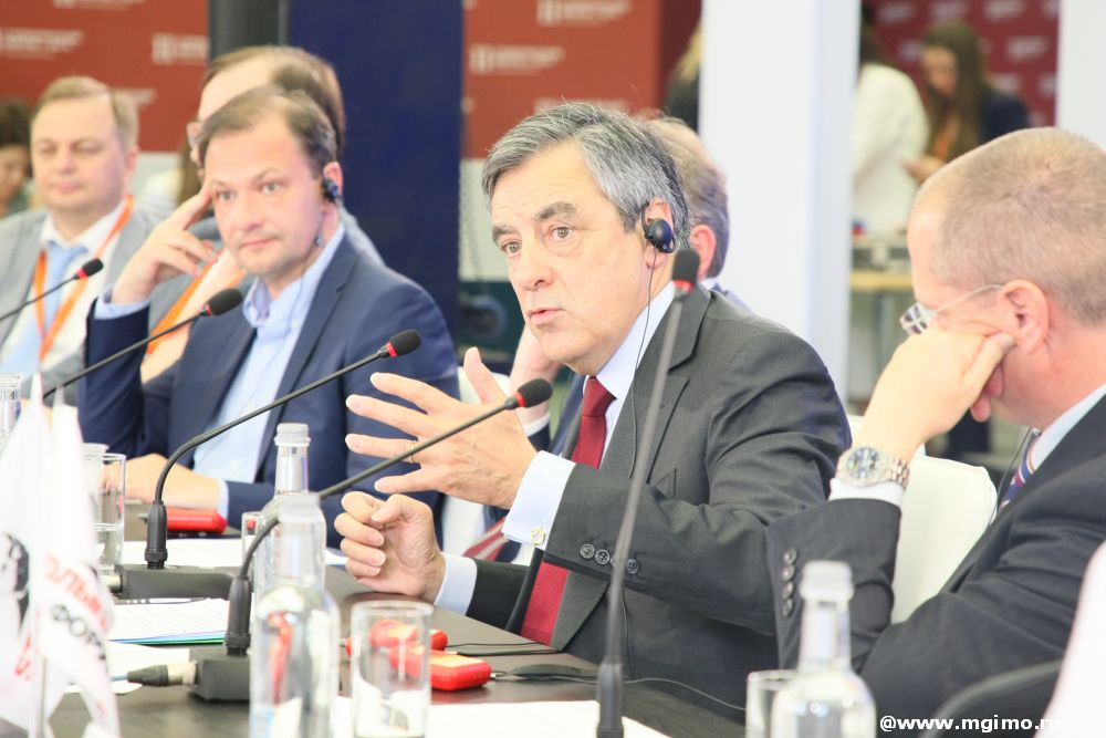 Francois Fillon on «Big Politics» at Second Stolypin Forum