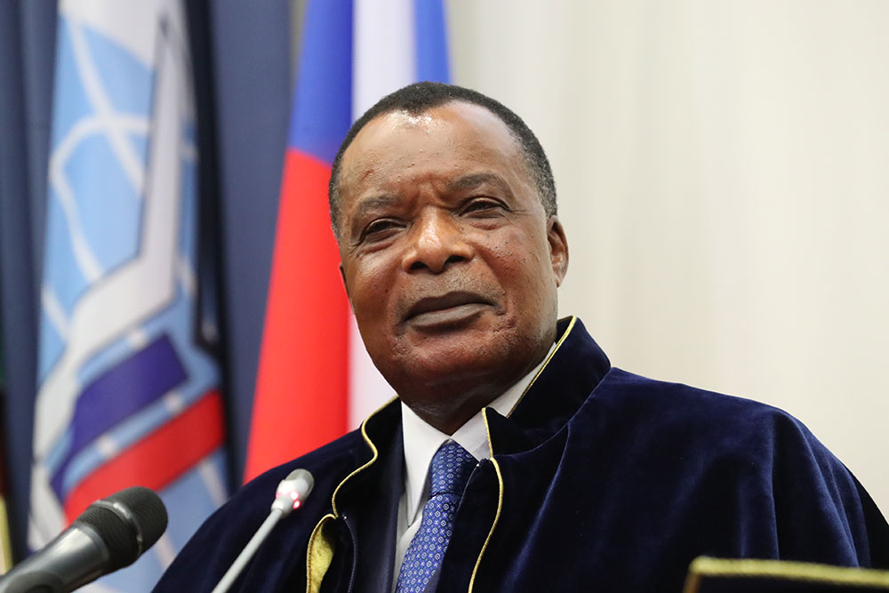 President of Congo Receives Honorary Doctorate from MGIMO