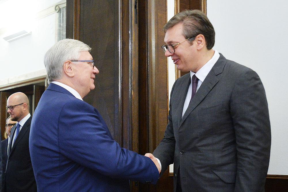 Anatoly Torkunov Visits Serbia