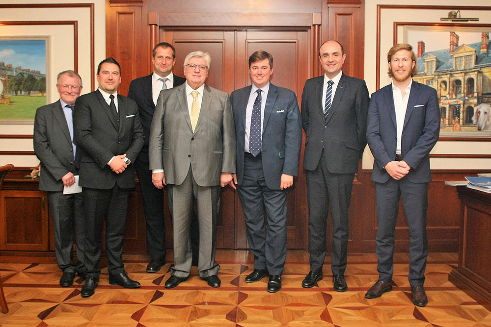 Delegation from Les Républicains Comes to MGIMO