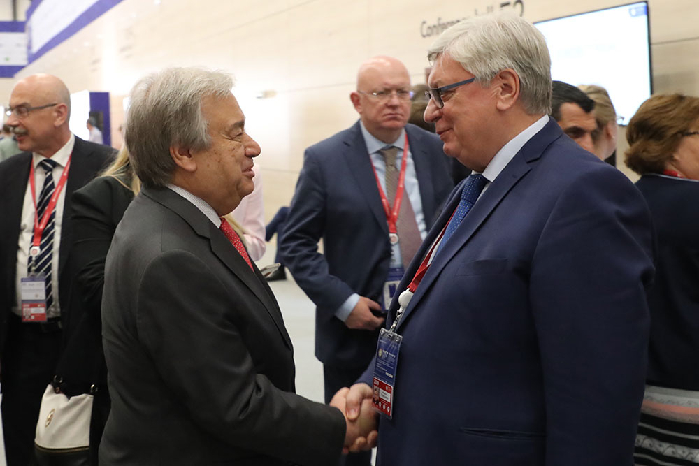 UN Secretary-General Meets With MGIMO Rector