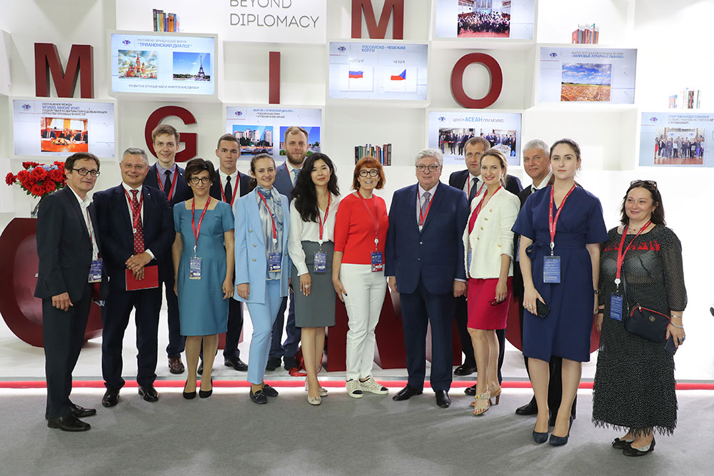 MGIMO at SPIEF-2019