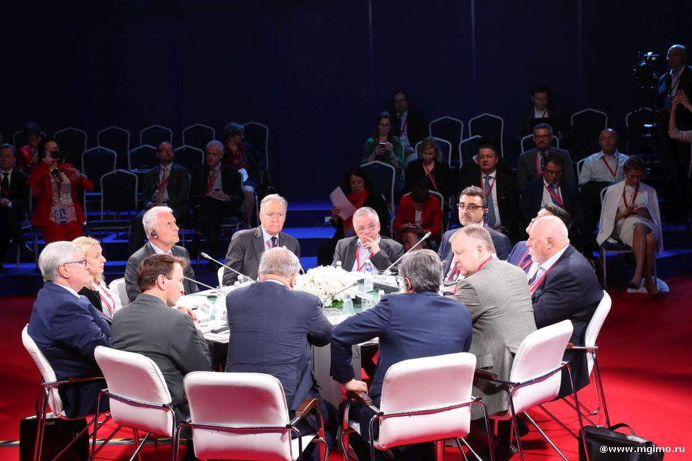 Trianon Panels at SPIEF 2019