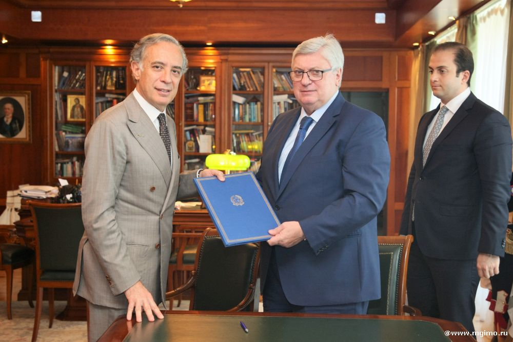 MGIMO and Italian Embassy Conclude Cooperation Agreement