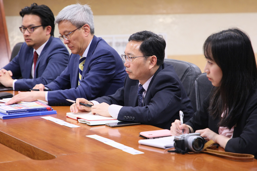 Roundtable with Shanghai Institutes for International Studies
