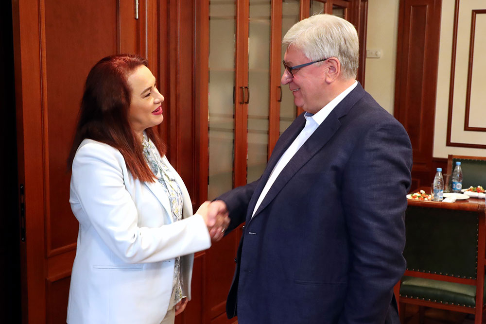 MGIMO Rector Welcomes President of UN General Assembly Maria Espinosa