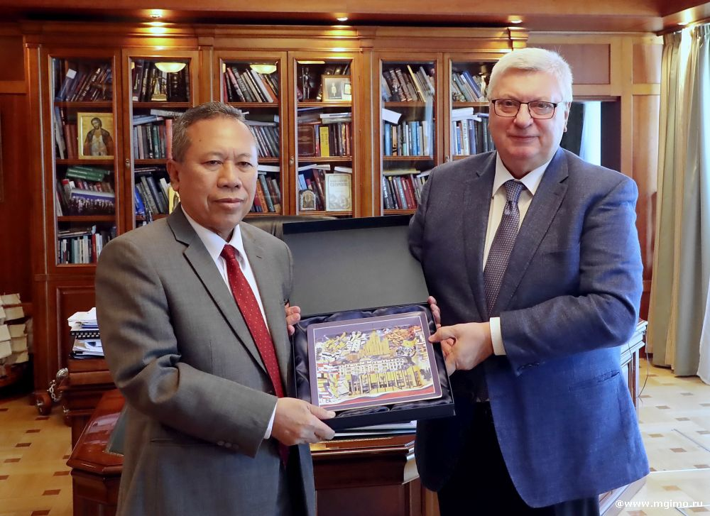 Indonesia's Special Presidential Envoy for Interfaith Dialogue and Civilization Affairs at MGIMO