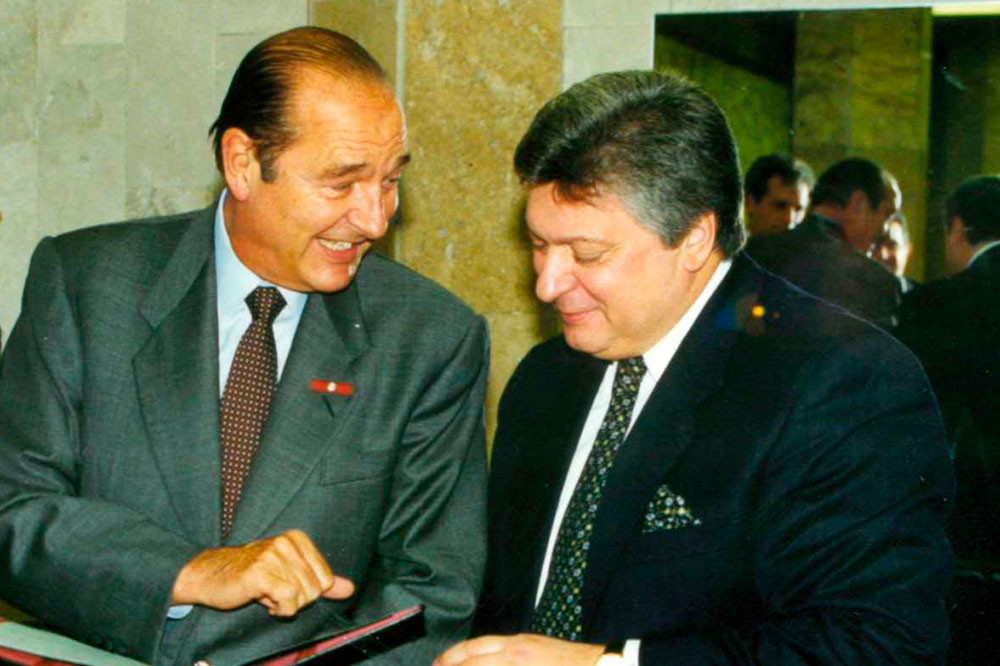 Jacques Chirac Has Died. MGIMO Mourns the President of France and Honorary Doctor of our University