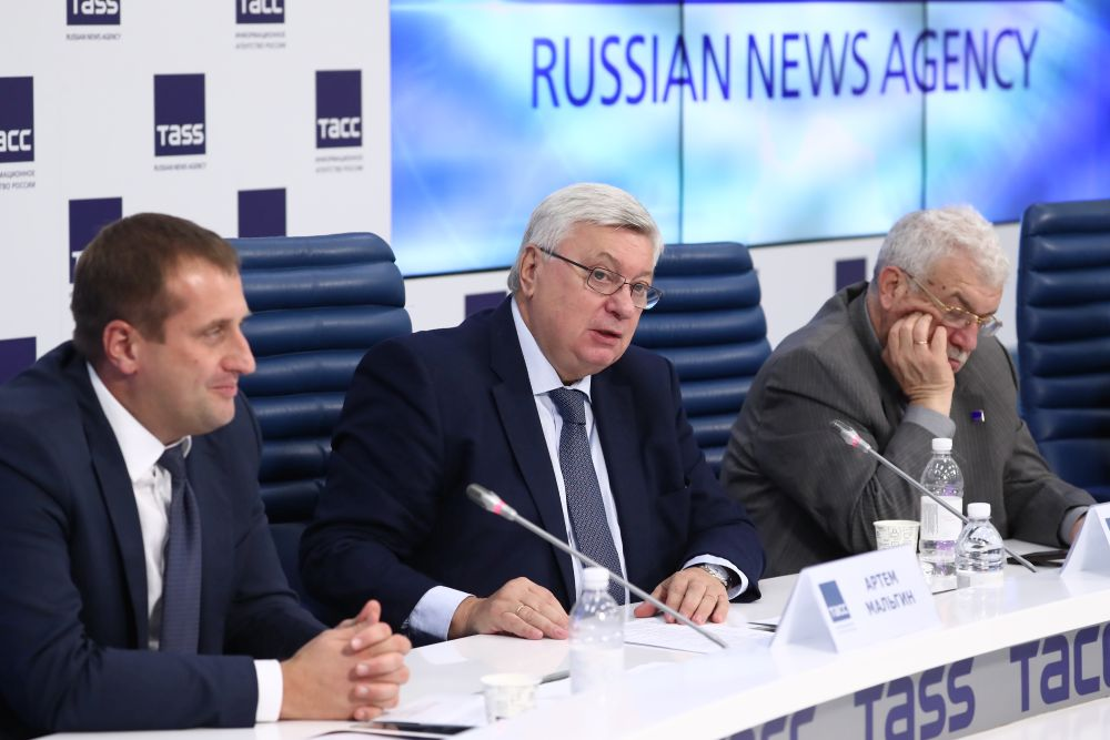 MGIMO's Strategic Press Conference in TASS