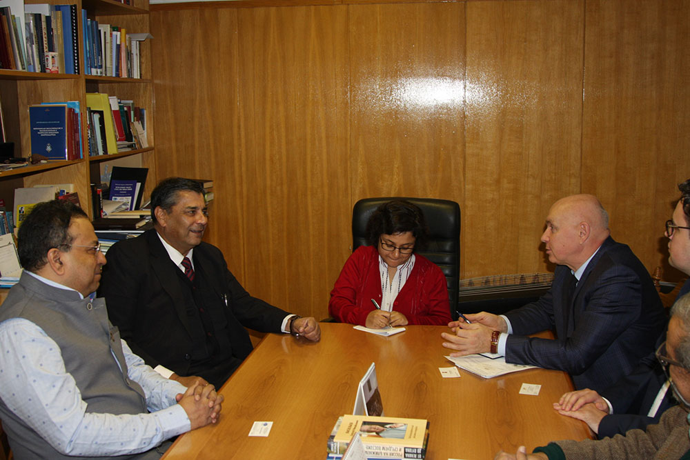 MGIMO Welcomes Indian Delegation