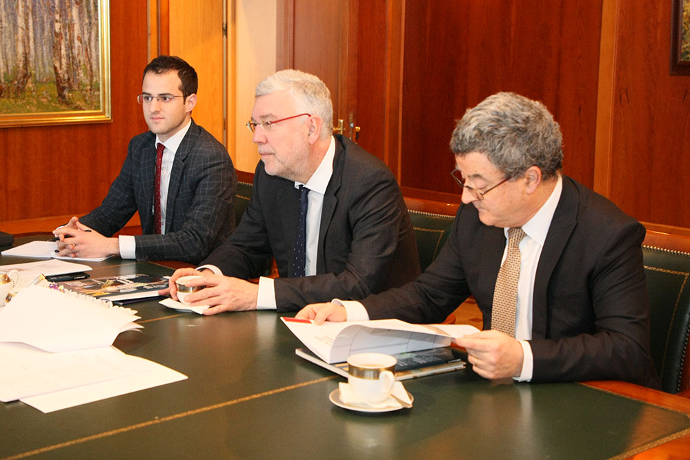 MGIMO Rector Receives Ambassadors of Belgium and Switzerland