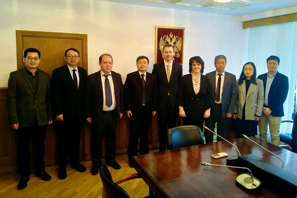 Delegation from Chinese Academy of Social Sciences at MGIMO
