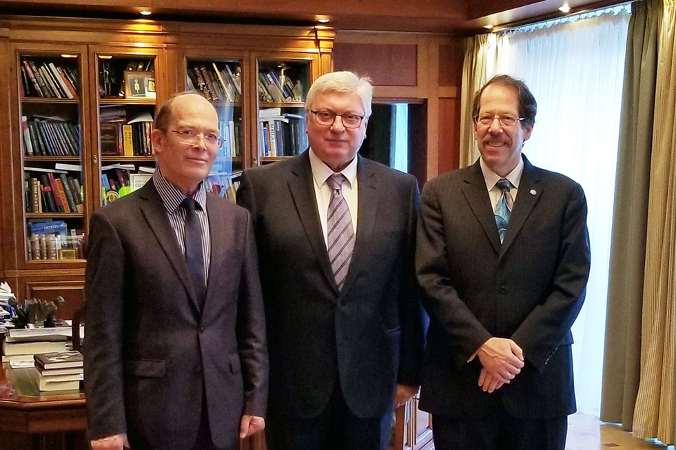 MGIMO Rector Meets with Director of Science Diplomacy Centre at Tufts University