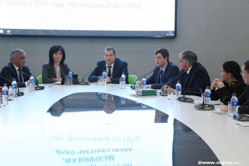 Expert meetings at MGIMO Days in Tashkent