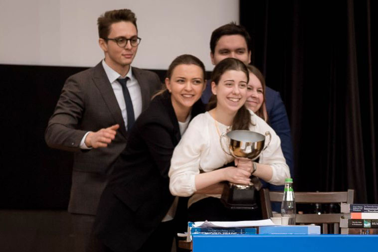 MGIMO Team Wins Russian Round of Jessup Competition