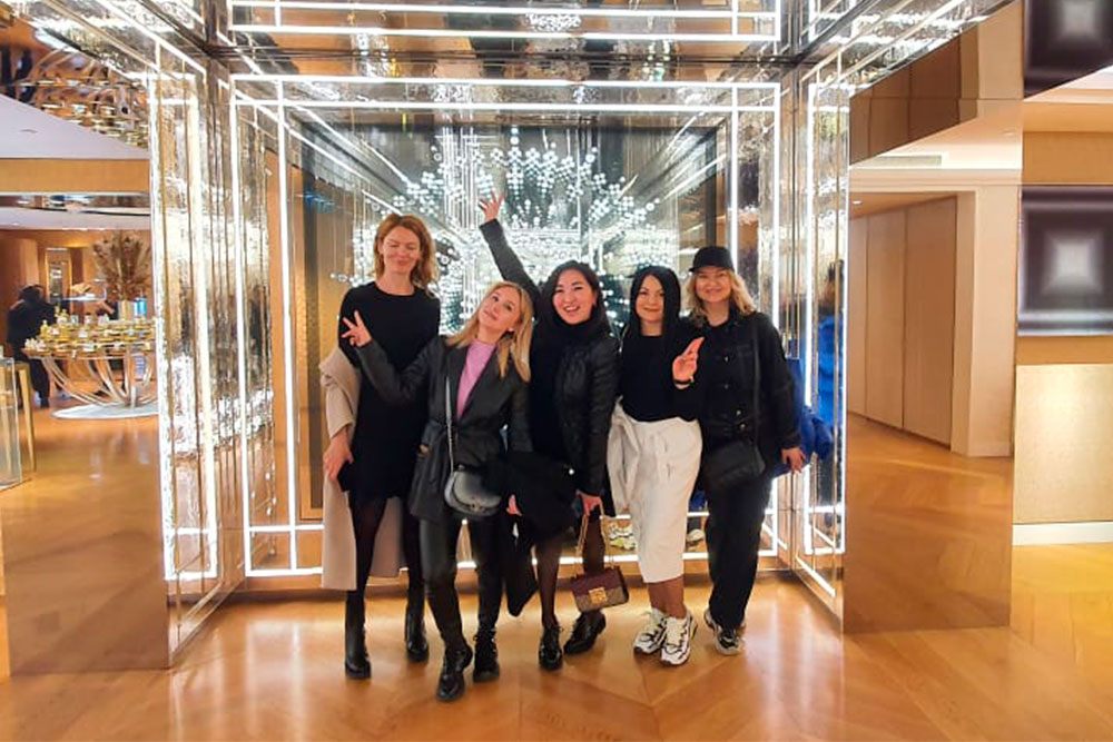 MGIMO – British Higher School of Design MBA Students visit Paris Fashion Week
