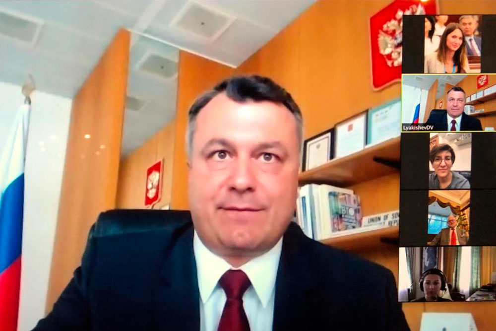 Online Lecture by Russia's Permanent Representative to WTO
