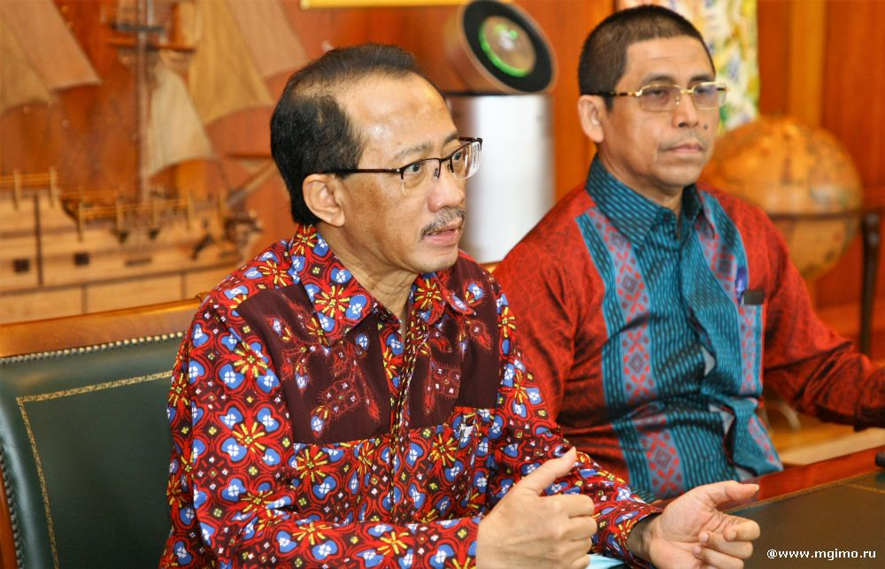 Ambassador of Indonesia Comes to MGIMO for Farewell Meeting