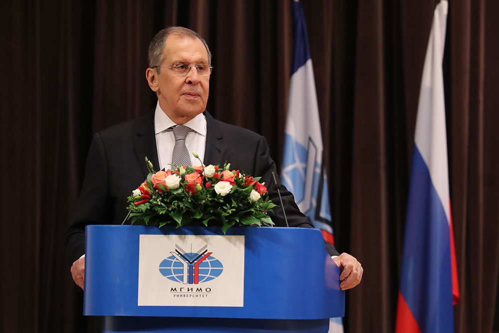 Sergey Lavrov Opened Academic Year at MGIMO