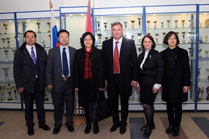 Delegation from UN Association of China Comes to MGIMO