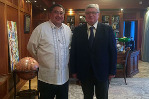 Ambassador of the Philippines Comes to MGIMO