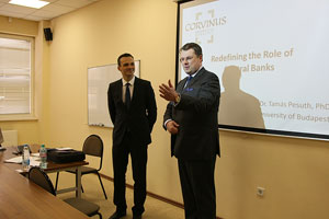 Delegation from Corvinus University Comes to MGIMO