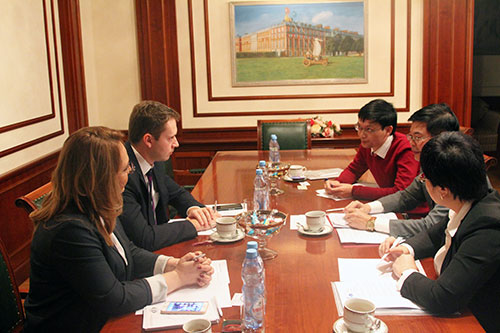 Delegation From Hanoi Law University Visits MGIMO