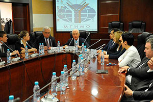 MGIMO Celebrates Opening of Russian-Norwegian-Italian MBA program for Rosneft Employees