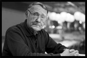 Ingvar Kamprad, founder of IKEA, has passed away