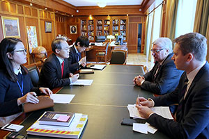 New South Korean Ambassador Meets with MGIMO Rector