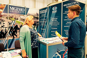 MGIMO at International Exhibition «Education and Career» in Minsk