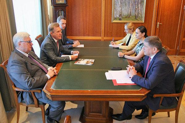 MGIMO Welcomes Moldovan Ambassador Andrei Neguta